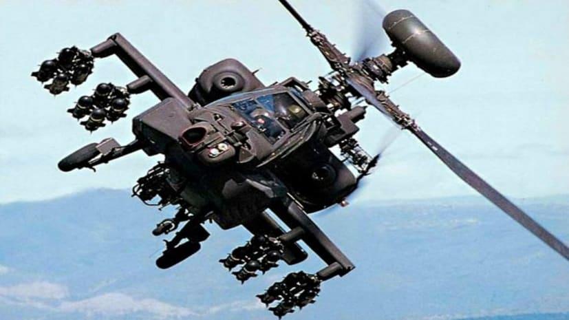 अपाचे अटैक हेलिकॉप्टरों की पहली खेप पहुंची भारत, हमले के साथ तस्वीरें भी लेने में सक्षम