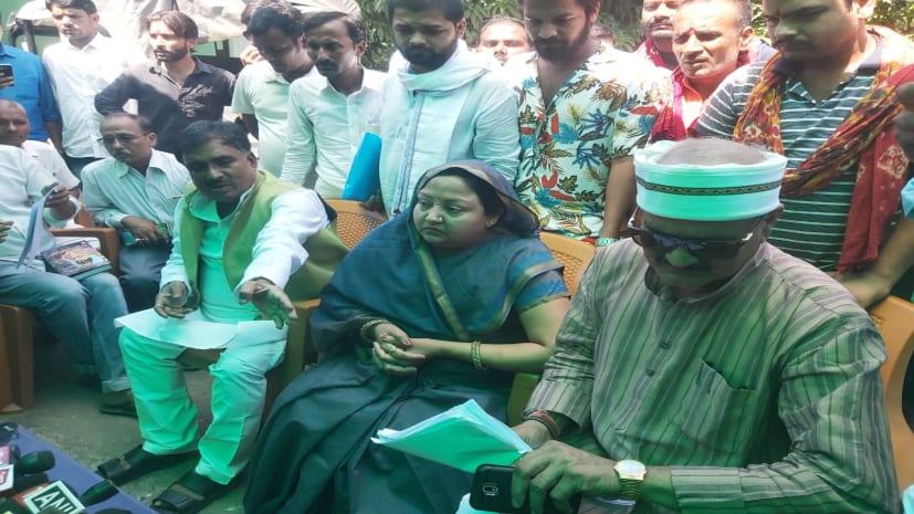 बिहार सरकार बाढ़ की एएसपी लिपि सिंह को तत्काल हटाए....नहीं तो कोर्ट में करेंगे मुकदमा