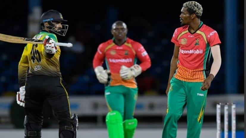 पाक बल्लेबाज ने आउट होने के बाद गुस्से में घुमाया बल्ला, बच गया बॉलर का माथा
