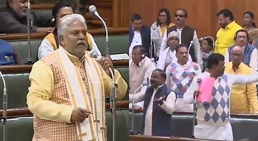 बिहार विधान सभा में मंत्री प्रेम कुमार का तेवर तल्ख,कहा-हमने लालटेन युग को खत्म कर दिया..सदन में भारी बवाल
