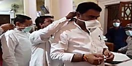 विधानमंडल में कोरोना का भय, विधायकों के साथ साथ कर्मचारी भी दिखे मास्क पहने