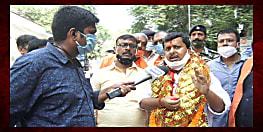 बांकीपुर की लड़ाई: भाजपा के नितिन नवीन चौथी बार मैदान में, नामांकन के बाद कहा- और बड़ी होगी जीत