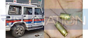 वैशाली में कांग्रेस नेता की हत्या के बाद भारी बवाल, SP की गाड़ी पर पथराव, एसपी आवास को भी घेरा