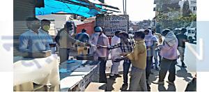 नवादा एएसपी अभियान कुमार आलोक की बड़ी पहल, पैदल चल रहे लोगों को खाना खिलाकर घर तक पहुंचाएंगे