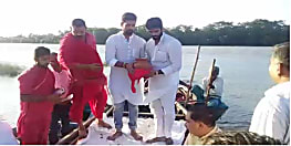 रामचंद्र पासवान का अस्थि कलश लेकर समस्तीपुर पहुंचे चिराग पासवान, लोगों ने दी भावभीनी श्रद्धांजलि