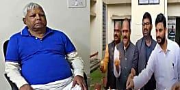 राजद सुप्रीमो लालू प्रसाद ने रिम्स में मनाई दीवाली, राजद समर्थको ने अस्पताल के कर्मचारियों को बांटी मिठाईयां