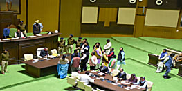 झारखंड विधानसभा का बजट सत्र, बाबूलाल को नहीं मिली नेता प्रतिपक्ष की कुर्सी, सदन में गूंजा जय श्री राम- जय श्रीराम