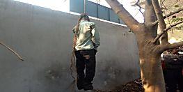 संदिग्ध हालत में पेड़ से लटका मिला युवक का शव, सकते में पुलिस