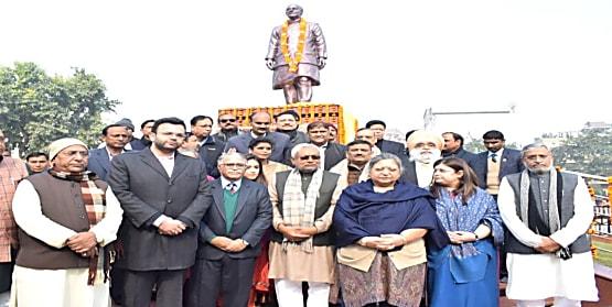 अरुण जेटली की जयंती पर पटना में आदमकद प्रतिमा का अनावरण,CM नीतीश ने निभाया वादा