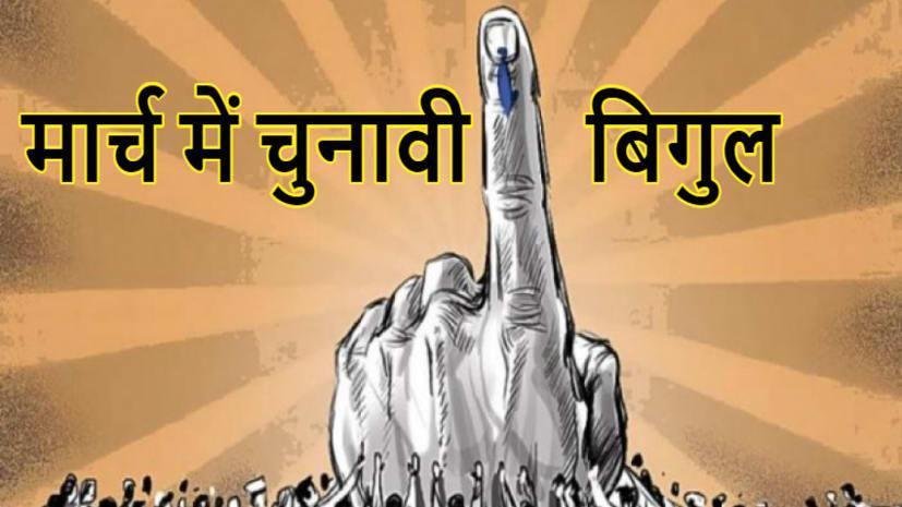 मार्च के पहले हफ्ते में बज सकता है चुनावी बिगुल, चुनाव आयोग ने 28 फरवरी के बाद तबादलों पर लगाई रोक
