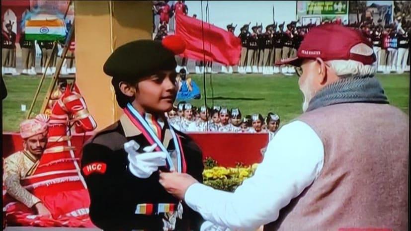 बिहार की बेटी ने किया कमाल, NCC में बेस्ट ऑफ इंडिया कैडेट चुनी गई पूर्वी चंपारण की संगिनी