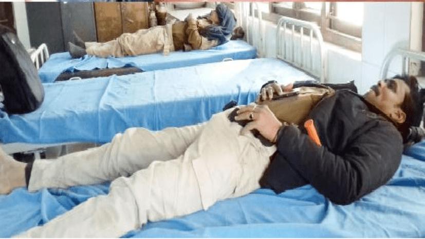 तेज़ रफ़्तार का कहर: बेकाबू ट्रक ने पुलिस जीप को मारी टक्कर, ASI की मौत, 3 घायल