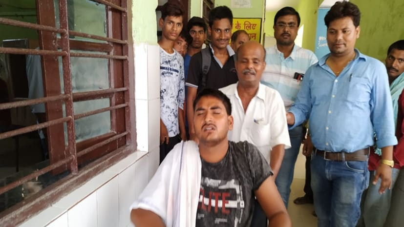 पावापुरी मेडिकल कॉलेज के जूनियर डॉक्टरों की दादागिरी, मरीज के परिजन को दौड़ा दौड़ा कर पीटा