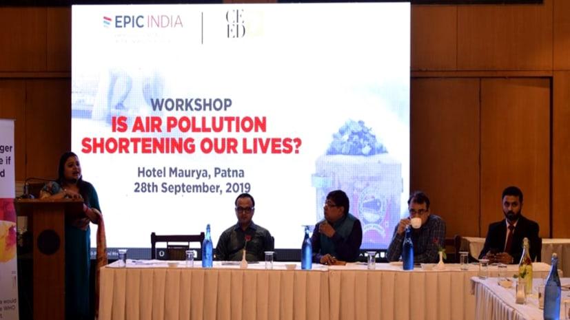 वायु प्रदूषण से घट रहा पटना के लोगों का जीवनकाल, एपिक इंडिया और सीड ने जारी किया एयर क्वालिटी लाइफ इंडेक्स