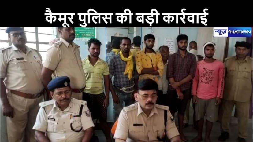 हथियार लहराते वीडियो वायरल होने के बाद हरकत में आई पुलिस, 6 को किया गिरफ्तार