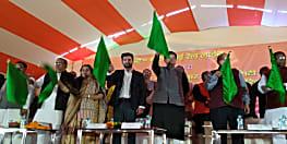 रेलमंत्री ने हरी झंडी दिखा पटना से बेंगलुरू के लिए हमसफर एक्सप्रेस को किया रवाना