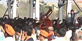 PM मोदी के कार्यक्रम में पुलिस का लाठीचार्ज, रैली में समर्थकों ने जमकार किया हंगामा