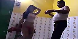 नशे में धुत्त थानेदार का अर्द्धनग्न बार बाला के साथ अश्लील डांस का वीडियो हुआ वायरल...