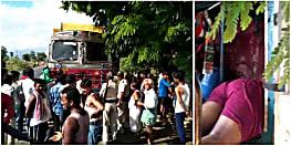 नवादा : NH पर खड़ी ट्रक में मिली युवक की लाश, इलाके में सनसनी