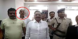 बाहुबली विधायक अनंत सिंह के साथ पुलिस मुख्यालय तक पहुंच गया वांटेड भूषण सिंह, देखती रह गई पुलिस