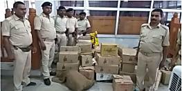 उत्पाद विभाग की टीम ने की छापेमारी, ढाई लाख के शराब के साथ दो गिरफ्तार