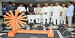 गांधी जयंती पर बोले सीएम नीतीश, सात पापों को सचिवालय की दीवारों में लगवा दीजिए, ताकि राजपाट बदल भी जाये तो भी कोई इसे हटा न सके