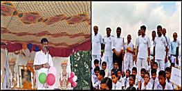 बिहटा के होमगार्ड मुख्यालय में धूमधाम से मनी गांधी जयंती, डीजी आरके मिश्रा भी हुए शामिल