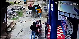 नालंदा में जमीन के विवाद में दो पक्षों में मारपीट, तस्वीर सीसीटीवी कैमरे में कैद