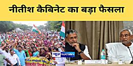 बिहार के नियोजित शिक्षकों के लिए बड़ी खबर,नीतीश कैबिनेट ने सेवा शर्त के लिए गठित कमिटी का किया पुनर्गठन