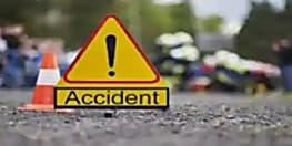 सड़क पार करते समय एंबुलेंस चालक को ट्रक ने रौंदा, अस्पताल ले जाते समय तोड़ा दम