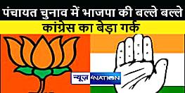गुजरात के जिला पंचायत का परिणाम आया सामने,सभी 31 सीटों पर बीजेपी का कब्जा,कांग्रेस का सूपड़ा साफ