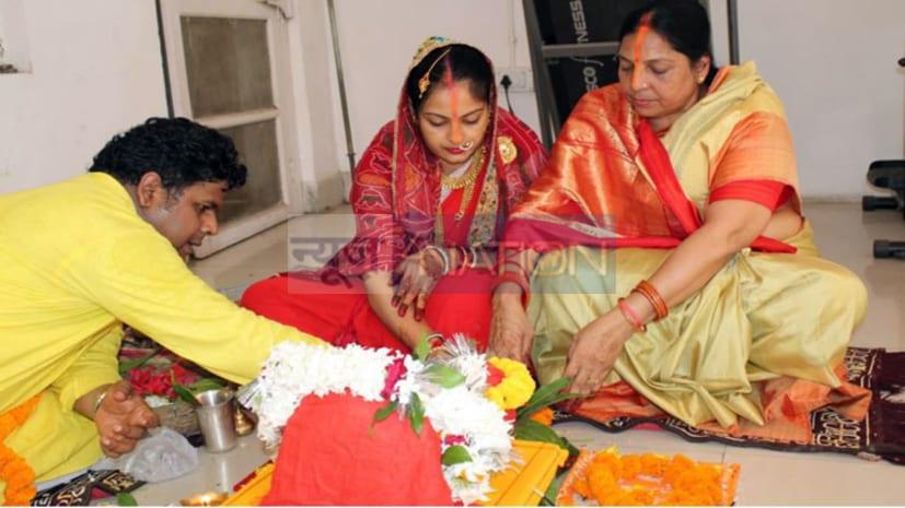 हरितालिका तीज पूजा आज, पति की लंबी उम्र के लिए महिलाएं कर रही आज शिव की उपासना