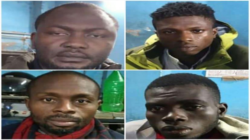 भारत में अवैध घुसपैठ कर रहे चार नाइजेरियन रक्सौल बॉर्डर पर गिरफ्तार, पूछताछ जारी
