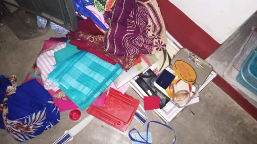 नवादा में चोरों का उत्पात, घर का ताला काटकर साफ कर गए लाखों के सामान