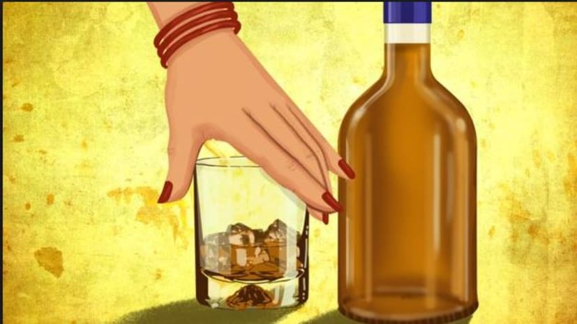 पत्नी की आदतों से परेशान हो पति पहुंचा थाने, कहा-पत्नी शराब पीकर घूमने के लिए मांगती है पैसे