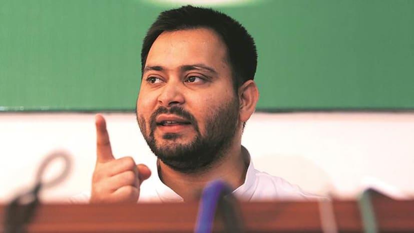 संकल्प रैली को लेकर तेजस्वी का नीतीश पर हमला, कहा- मोदी जी से डरिए मत, बिहार का हक़ मांगिए