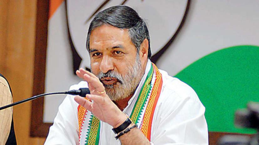 सत्ता में आई तो नोटबंदी की न्यायिक जाँच कराएगी कांग्रेस पार्टी- आनंद शर्मा