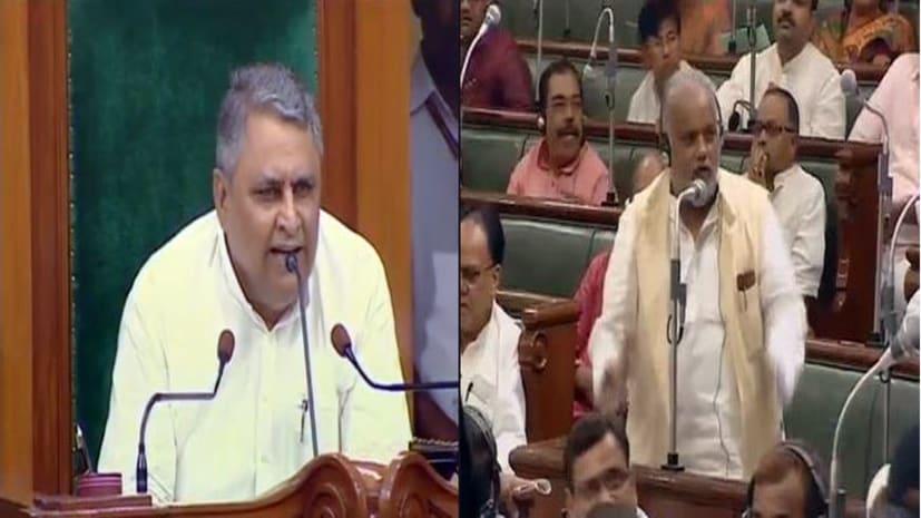 विधानसभा के अंदर हंगामा, राजद विधायक स्वास्थ्य मंत्री के इस्तीफे पर अड़े तो मंत्री श्रवण कुमार ने कहा कि यही हाल रहा तो बिहार की जनता कर देगी रिजेक्ट