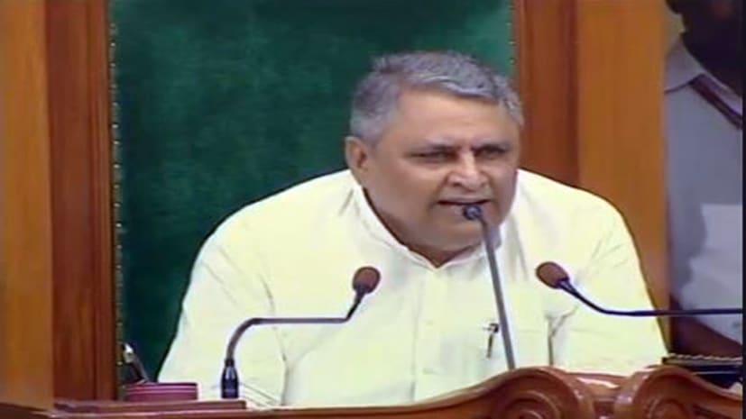 बिहार विधान सभा में विपक्ष का हंगामा, सदन की कार्यवाही 2 बजे तक के लिए स्थगित