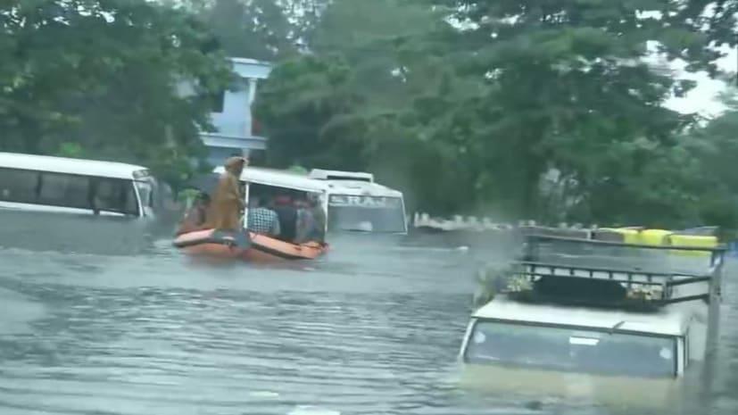 नीतीश सरकार के मंत्री से पूछा गया... पटना डूबने का जिम्मेदार कौन? जवाब मिला- इसके लिए कांग्रेस-राजद है कसूरवार