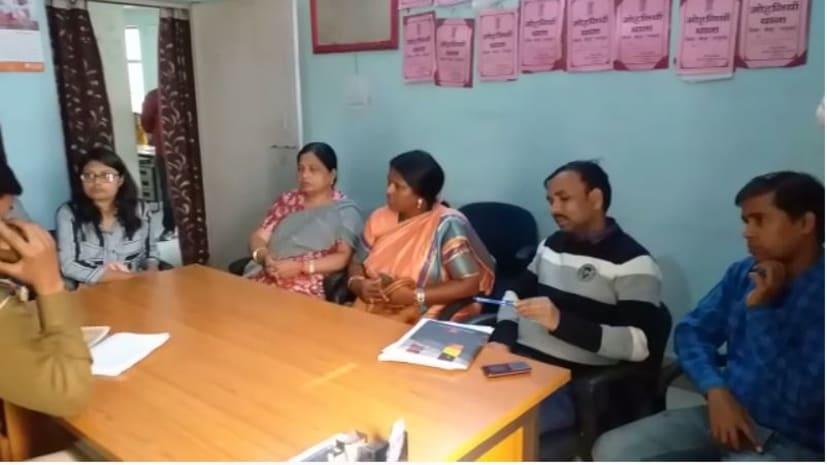 कैमूर गैंगरेप मामले की जाँच करने पहुंची बाल अधिकार संरक्षण आयोग की टीम, पीड़िता से की मुलाकात