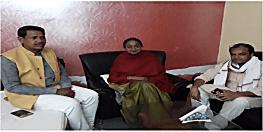 सासाराम से टिकट कन्फर्म होते ही मीरा कुमार ने बीजेपी उम्मीदवार छेदी पासवान के खिलाफ खोला मोर्चा
