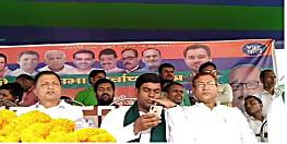 हरलाखी में मुकेश सहनी ने कहा – देश, संविधान और आरक्षण बचाने के लिए महागठबंधन के पक्ष में करें मतदान