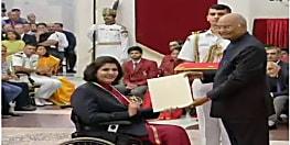 दीपा मलिक को राजीव गांधी खेल रत्न… पूनम यादव को अर्जुन पुरस्कार, राष्ट्रपति ने किया सम्मानित