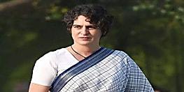 प्रियंका ने यूपी पुलिस पर लगाए गंभीर आरोप, कांग्रेस ने योगी सरकार को बर्खास्त करने की मांग की