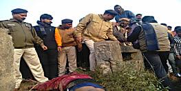नवादा में युवक का शव बरामद, हत्या का आरोप लगा गुस्साए लोगों ने NH31 को किया जाम