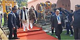 बोधगया पहुंचे सीएम नीतीश कुमार का हुआ भव्य स्वागत, शाम 4 बजे बौद्ध महोत्सव का करेंगे शुभारंभ