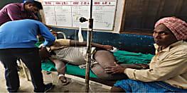 हाइटेंशन तार की चपेट में आने से तीन लोग गंभीर रुप से जख्मी, इलाज के लिए अस्पताल में कराया गया भर्ती