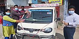 प•चम्पारण जिला मे चलाया गया मतदाता जागरूकता अभियान, गैस सिलेंडरों और वाहनों पर लगाये गए मतदाता जागरूकता के स्टीकर
