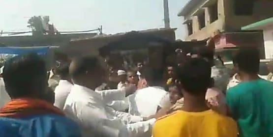 आरसीपी सिंह की सभा में लगे नीतीश कुमार मुर्दाबाद के नारे, जदयू कार्यकर्ताओं ने जाप कार्यकर्ताओं पर लगाया हंगामा का आरोप